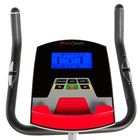 Fitness Reality 210 Upright Exercise Bike with 21 Computer Workout Programs - image 6 of 9