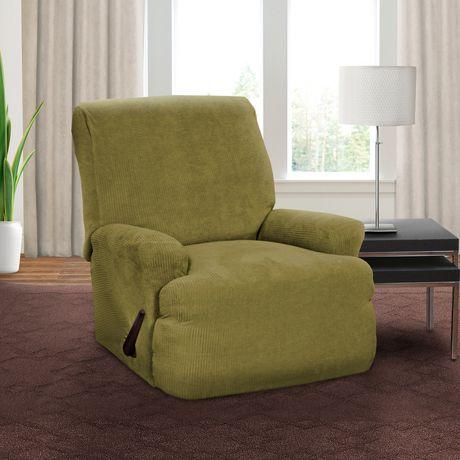 housse extensible pour fauteuil inclinable montgomery de sure fit. Black Bedroom Furniture Sets. Home Design Ideas