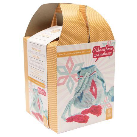 Crafts To Go Mochila Bag Crochet Kit Walmart Canada