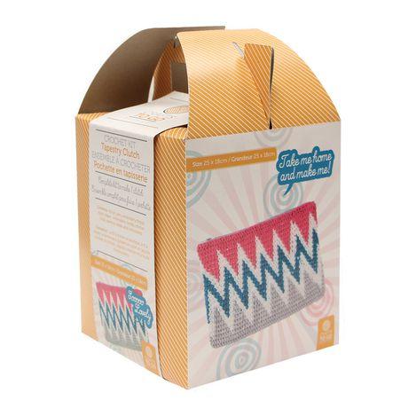 Crafts To Go Tapestry Clutch Crochet Kit Walmart Canada