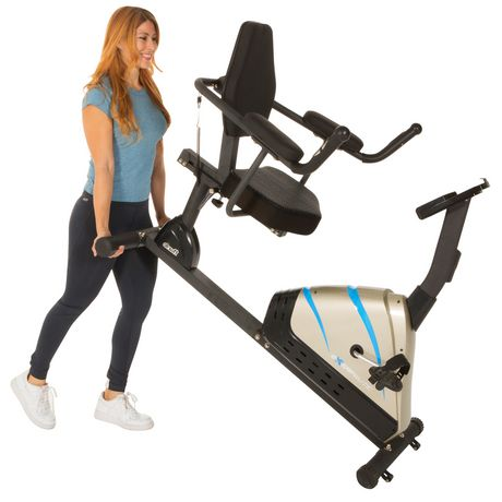 Exerpeutic 2000 High Capacity Programmable Magnetic Recumbent Bike - image 4 of 8