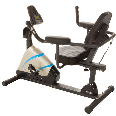 Exerpeutic 2000 High Capacity Programmable Magnetic Recumbent Bike - image 5 of 8