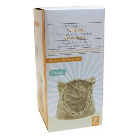 Crafts To Go Twine Bag Crochet Kit Walmart Canada