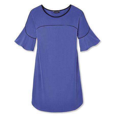 George Women S Rufe Sleeve Dress Walmart Canada