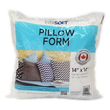 Eversoft 14 Quot Pillow Form Walmart Ca