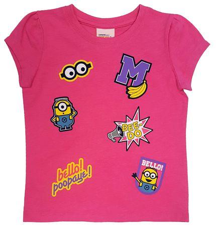 Minions Toddler Girls Short Sleeve T Shirt Walmart Canada