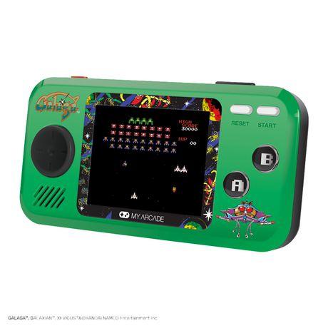 Galaga Pocket Player Green Walmart Canada