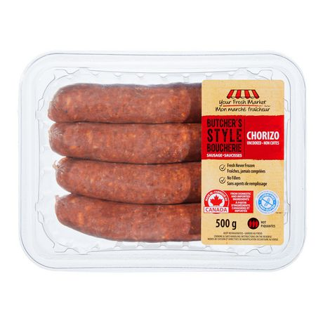 Your Fresh Market Hot Chorizo Sausage - image 2 of 4
