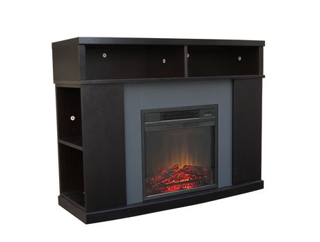 Decor Flame 42 Quot Electric Fireplace Walmart Canada