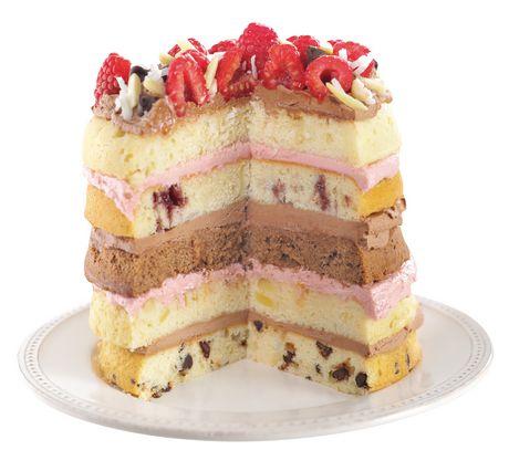 Ensemble de 5 moules à gâteau ronds Easy Layers de Wilton - image 7 de 7