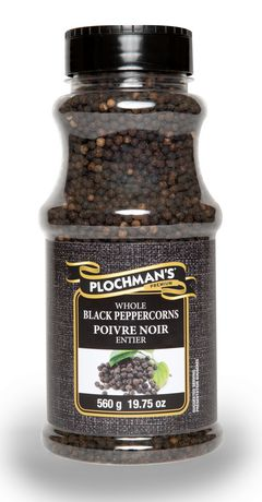 Plochman's Premium Whole Black Peppercorns - image 1 of 2