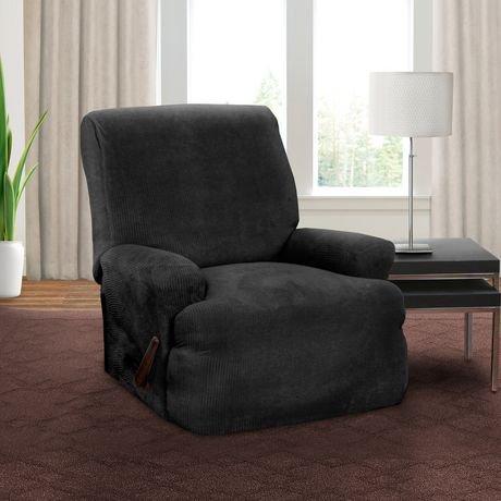 Housse extensible pour fauteuil inclinable montgomery de for Housse panier epicerie