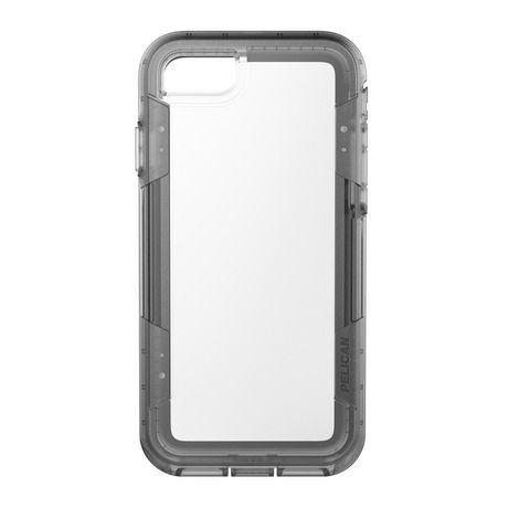 Étui Voyager de Pelican pour iPhone 7 Transparent/Grey - image 1 de 3