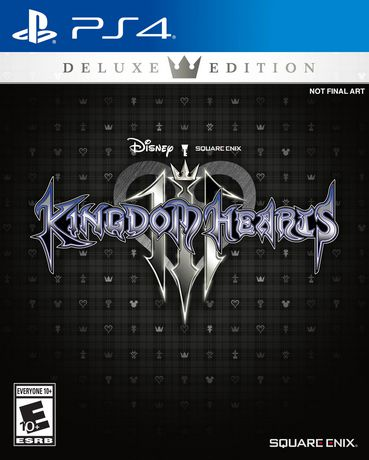 KINGDOM HEARTS III Deluxe Edition (PS4) - image 1 of 5