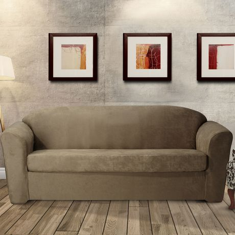 SureFit Sure Fit Stretch Leather Sofa Slipcover