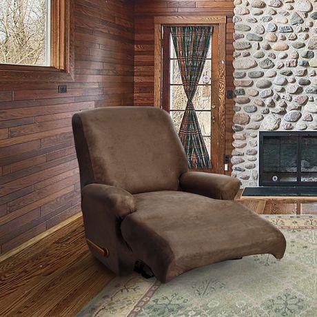 housse extensible pour fauteuil inclinable de sure fit. Black Bedroom Furniture Sets. Home Design Ideas