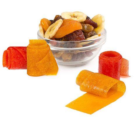 Nostalgia Organic Fruit Roll and Fruit Chip Snack Maker, Blue - image 7 of 8