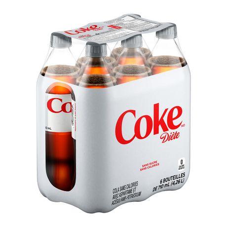 Coke DièteMD, emballage de 6bouteilles de 710mL - image 4 de 10