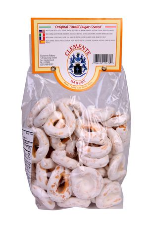 Clemente Jacques CLEMENTE Sugar Coated Taralli Cookies - image 1 of 2