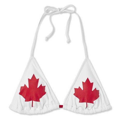 Haut de bikini en triangle fête du Canada George pour femmes - image 6 de 6