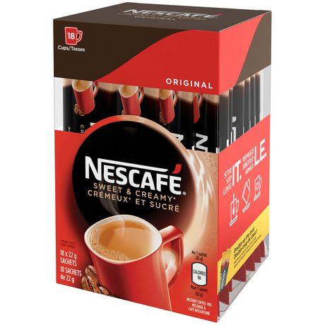 NESCAFÉ Sweet & Creamy Original, Instant Coffee Sachets - image 3 of 8