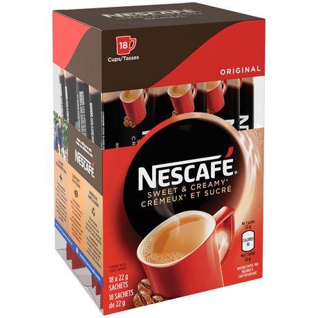 NESCAFÉ Sweet & Creamy Original, Instant Coffee Sachets - image 4 of 8