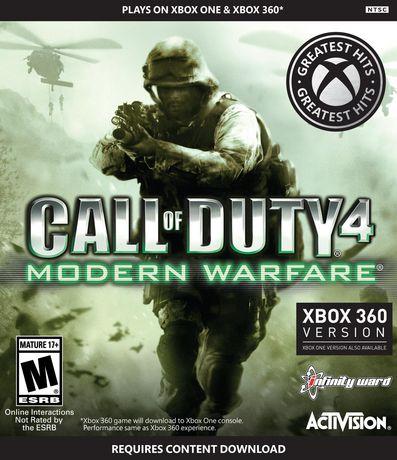 Call of Duty 4 Modern Warfare (Xbox One \u0026 360)