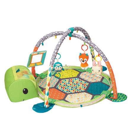 GROW-WITH-ME ACTIVITY GYM & SHAPE SORTING BALL PIT ...