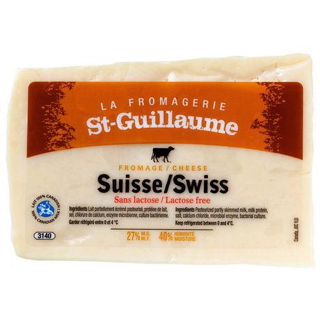 Fromage Suisse tranché Fromagerie St-Guillaume à 27 % M.G. - image 1 de 2