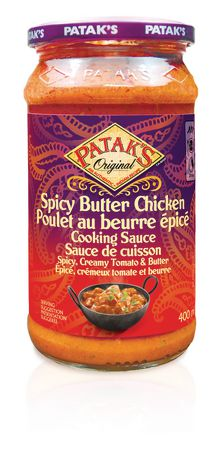 Patak's Original Spicy Butter Chicken Cooking Sauce - image 1 of 2