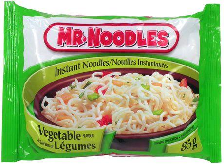 mr noodles vegetable flavoured instant noodles walmart canada