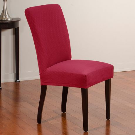 Sure Fit Diamond Stretch Dining Chair Slip Cover 4 Pack