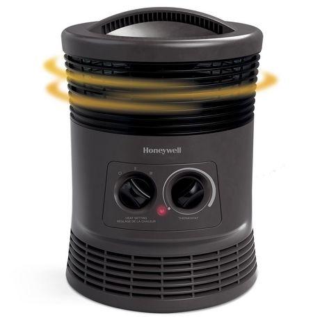 Honeywell HHF360VC 360° Surround Heat® Fan Forced Heater - image 3 of 5