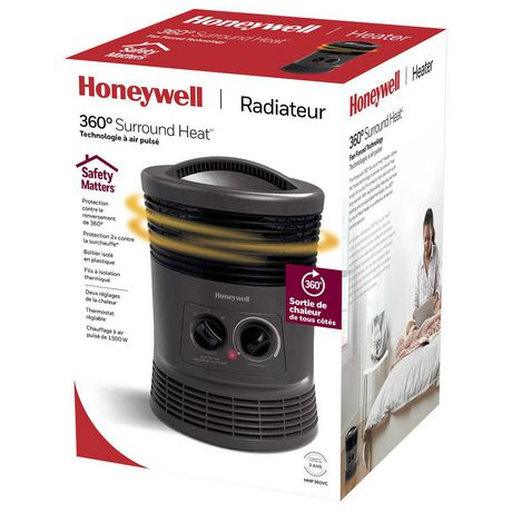 Honeywell HHF360VC 360° Surround Heat® Fan Forced Heater - image 5 of 5