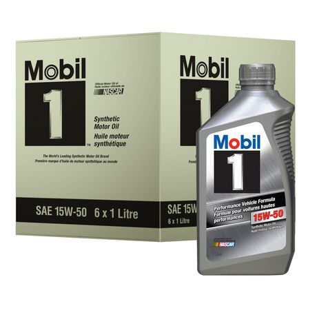 Mobil 1 Performance Vehicle Formula, Synthetic Motor Oil, 15W-50 - image 1 of 2