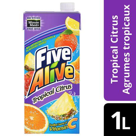 Five Alive Tropical Citrus Juice