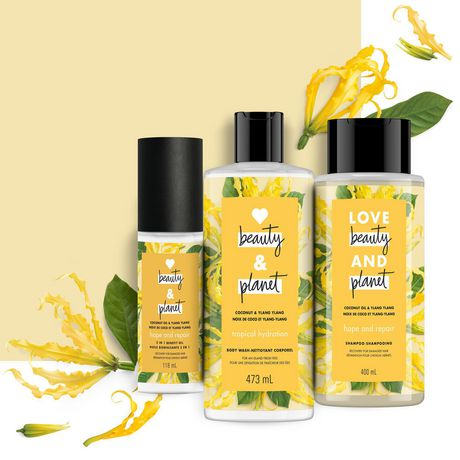 Love Beauty And  Planet Coconut Oil & Ylang Ylang Hope and Repair Shampoo 400 mL - image 7 of 9