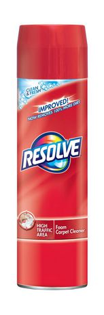 Resolve, Carpet Cleaner, High Traffic Area, Clean & Fresh, Foam, 623 g - image 1 of 6