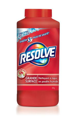 Resolve, Carpet Cleaner, Clean & Fresh, Powder, 510 g, Large Area, 3X more dirt removal - image 1 of 5