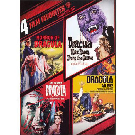 4 Films Préférés : Draculas : Horror Of Dracula / Dracula Has Risen / Taste The Blood Of Dracula / Dracula A.D. 1972 - image 1 de 1