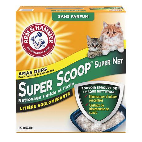 Litière agglomérante Super ScoopMC d'ARM & HAMMER(MC) sans parfum pour chats - image 2 de 2
