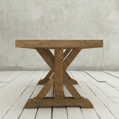 Table de salle manger x base de urban woodcraft de 78 po for Salle a manger urban