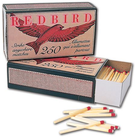 World Famous Redbird Strike Anywhere Matches - image 1 of 1