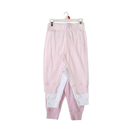George baby Girls' Cotton Joggers - image 2 of 2