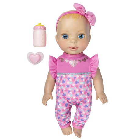 Luvabella Newborn Interactive Blonde Baby Doll - image 1 of 9