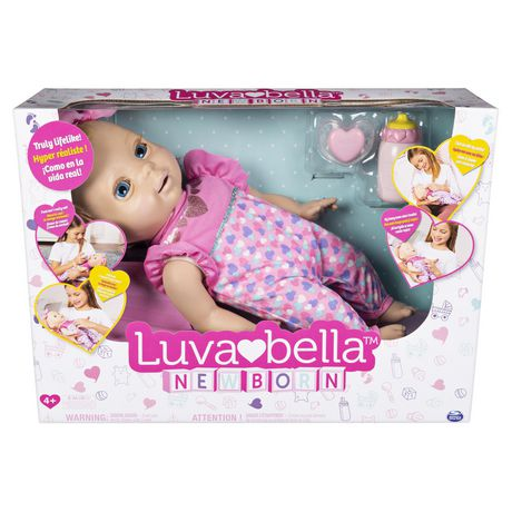 Luvabella Newborn Interactive Blonde Baby Doll - image 2 of 9
