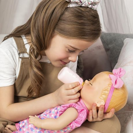 Luvabella Newborn Interactive Blonde Baby Doll - image 7 of 9