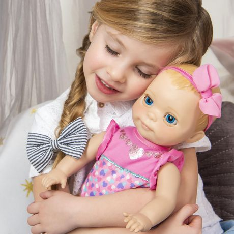 Luvabella Newborn Interactive Blonde Baby Doll - image 8 of 9