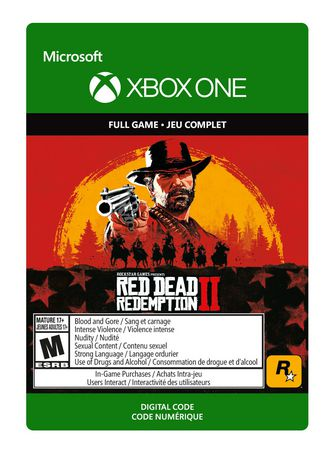 Xbox One Red Dead Redemption 2 [Download]