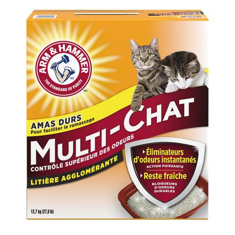 Arm & HAMMER™ Multi-Cat Clumping CAT Litter - image 2 of 4